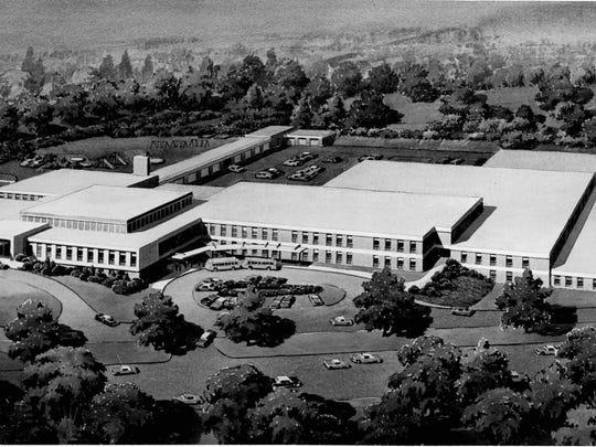 Al Sigl center in 1967. (Architects  photo)