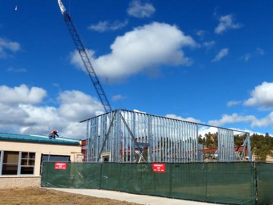 school construction white mountain
