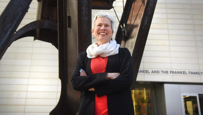 Christina Olsen was formerly the director of the Williams College Museum of Art in Williamstown, Massachusetts.