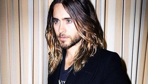 Thirty Seconds to Mars frontmas and actor Jared Leto strikes a pose in this Instagram snap he shared with followers this week.