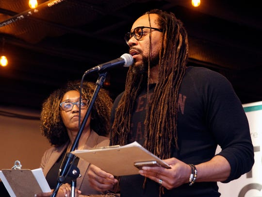 """The Milwaukee Journal Sentinel's James Causey is one of the contributors to """"Milwaukee Anthology,"""" a collection of essays, poems, stories and more from local writers and artists being released on Milwaukee Day. Causey and other contributors will appear at a special release event at Boswell Books at 3 p.m."""