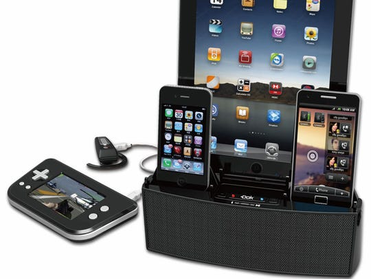 DOK Universal Multi-Charging Station lets you charge