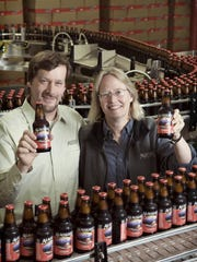 Alaskan Brewing Co. founders Geoff and Marcy Larson