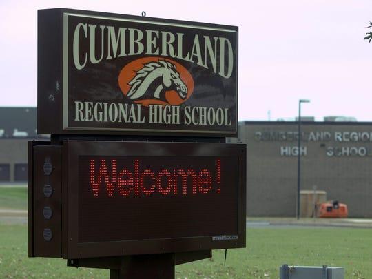 Cumberland Regional High School.