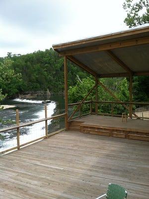 Dawt Mill dam