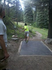 The Ruidoso Disc Golf Club gather at 5 p.m. every Thursday