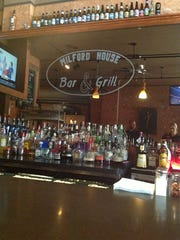 Milford House Bar & Grill currently serves wine, beer,