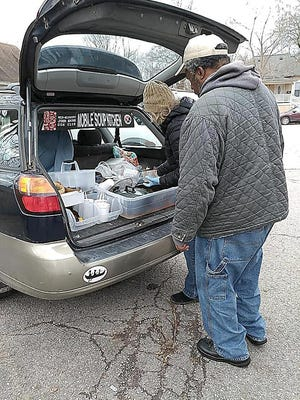 The Mid-Missouri John Brown Gun Club operates mobile soup kitchens each winter. serving more than 1,200 meals. It also operates free brake light clinics, where more than 40 brake lights are repaired or replaced each year.
