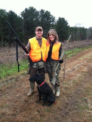 Dr Benji Harris with his wife Janet at last year's pheasant shoot at Great Southern Outdoors.