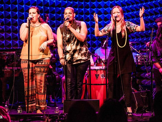 CocoMama performs as part of Friday Night Jazz, Blues