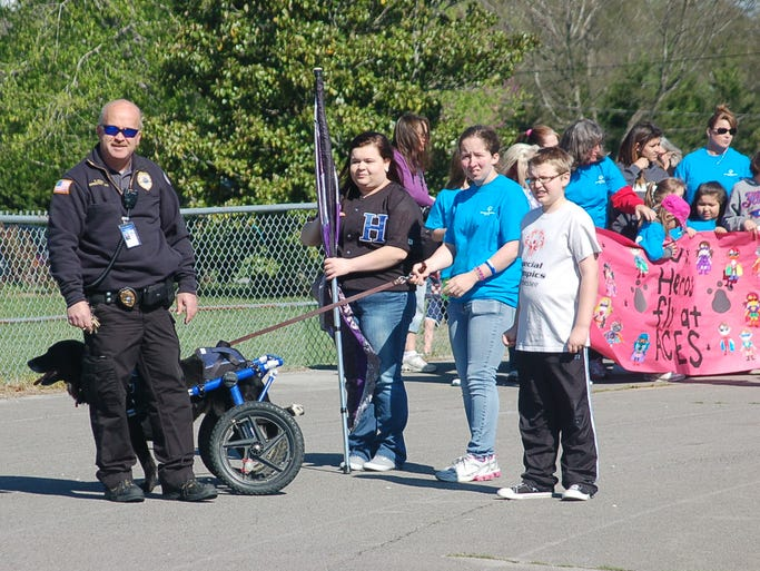 The annual Cheatham County Special Olympics were held on April 17 at Harpeth Middle School.
