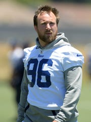Rams linebacker Matt Longacre could become a starter on defense if he can recover from back surgery.