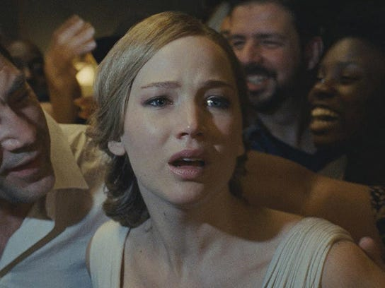 Javier Bardem and Jennifer Lawrence star in mother!