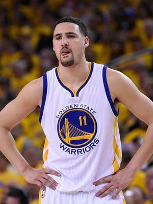 Klay Thompson is progressing through the NBA's concussino protocol.