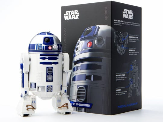 R2-D2™ App-Enabled Droid™ from Sphero is the droid fans are looking for to recreate iconic scenes from the Star Wars™ saga.