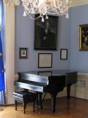 Ignace Paderewski's Steinway piano.