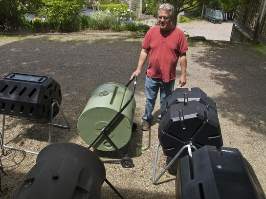 Mike Ather, founder of Middlesex-based Backyard Wildnerness,
