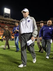 Kansas State Wildcats head coach Bill Snyder.