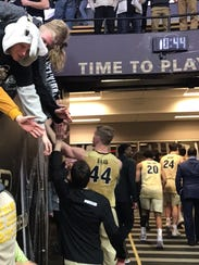 7-2 Purdue center Isaac Haas and the Boilermakers complete