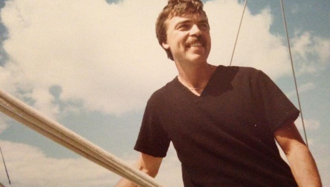 Alan Mulak, Michelle's father,  circa the early 1980's in Portsmouth, New Hampshire.