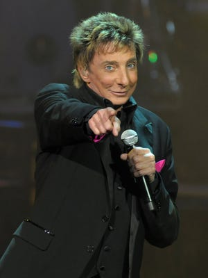 Barry Manilow will perform at 7:30 p.m. on Oct. 5 at the Prudential Center in Newark.