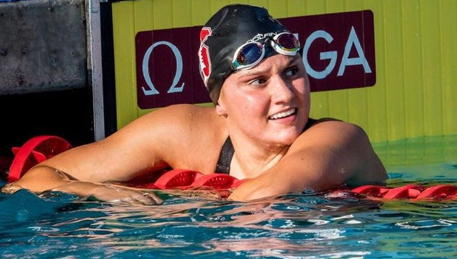 Former Cedarburg High School swimmer Katie Drabot, a rising junior at Stanford, is establishing herself as one of the top female swimmers in the country.