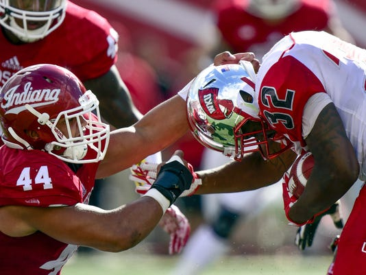 NCAA Football: Western Kentucky at Indiana