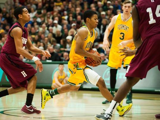 Harvard vs. Vermont men's Basketball 12/06/14