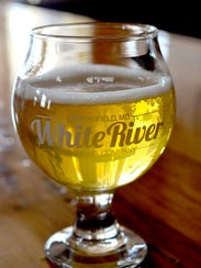 After the yoga class, enjoy a White River Brewing Co.,