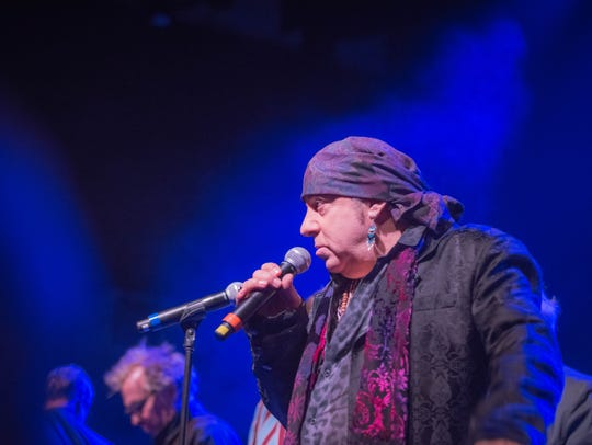 Little Steven Van Zandt seved as host and performer for the Blues Music Awards.