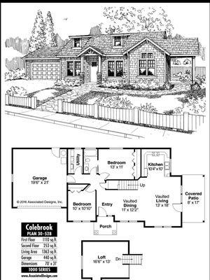 Colebrook house plan.