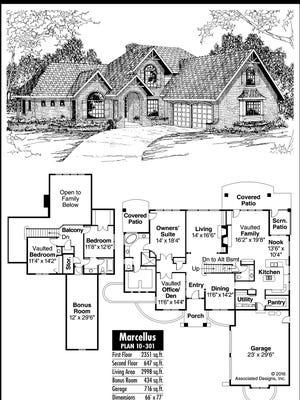 Marcellus Home Plan