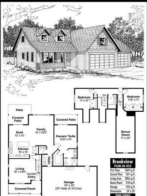 Brookview House Plan