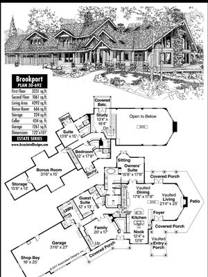 Brookport home plan