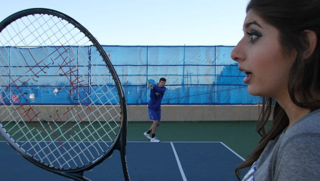 With the season opener around the corner Carlsbad boys and girls tennis is getting ready to serve some heat to the competition.