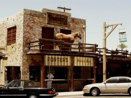 Scottsdale's First U.S. Post Office Building is now Porter's Western Store.
