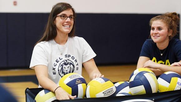 Torri Render, Asheville Christian Academy's volleyball