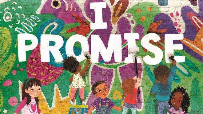 """""""I PROMISE"""" is LeBron James' first children's book."""