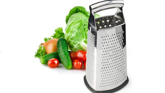 This Spring Leaf 4-sided grater is on sale