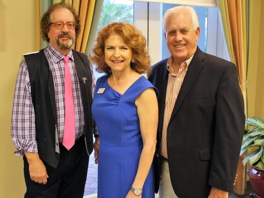 Chuck Garris, Kerry Bartlett and Roger VanDyke
