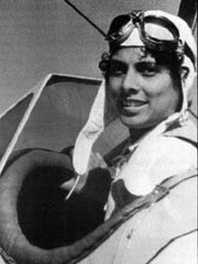 """Willa Brown was the person most responsible for preparing many of the black pilots for World War II, including the famous """"Tuskegee Airmen.""""-"""