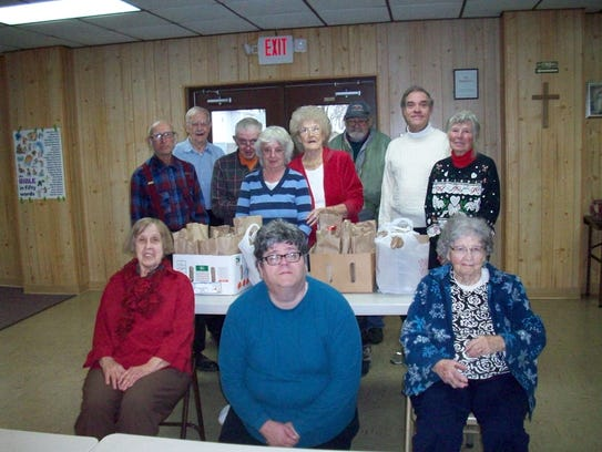 Valley Grange members recently delivered 36 Christmas