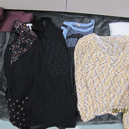 Do these clothing items belong to you? Boulder Police ask that you notify them at 303-441-1833 if any of these items belong to you.