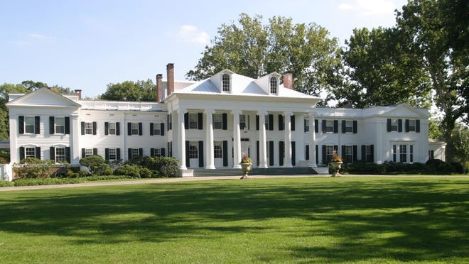 Drumthwacket, the official residence of the governor of New Jersey.