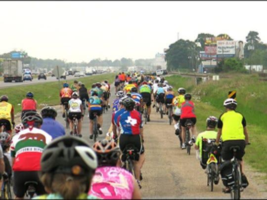Cycle Zydeco 2015 start