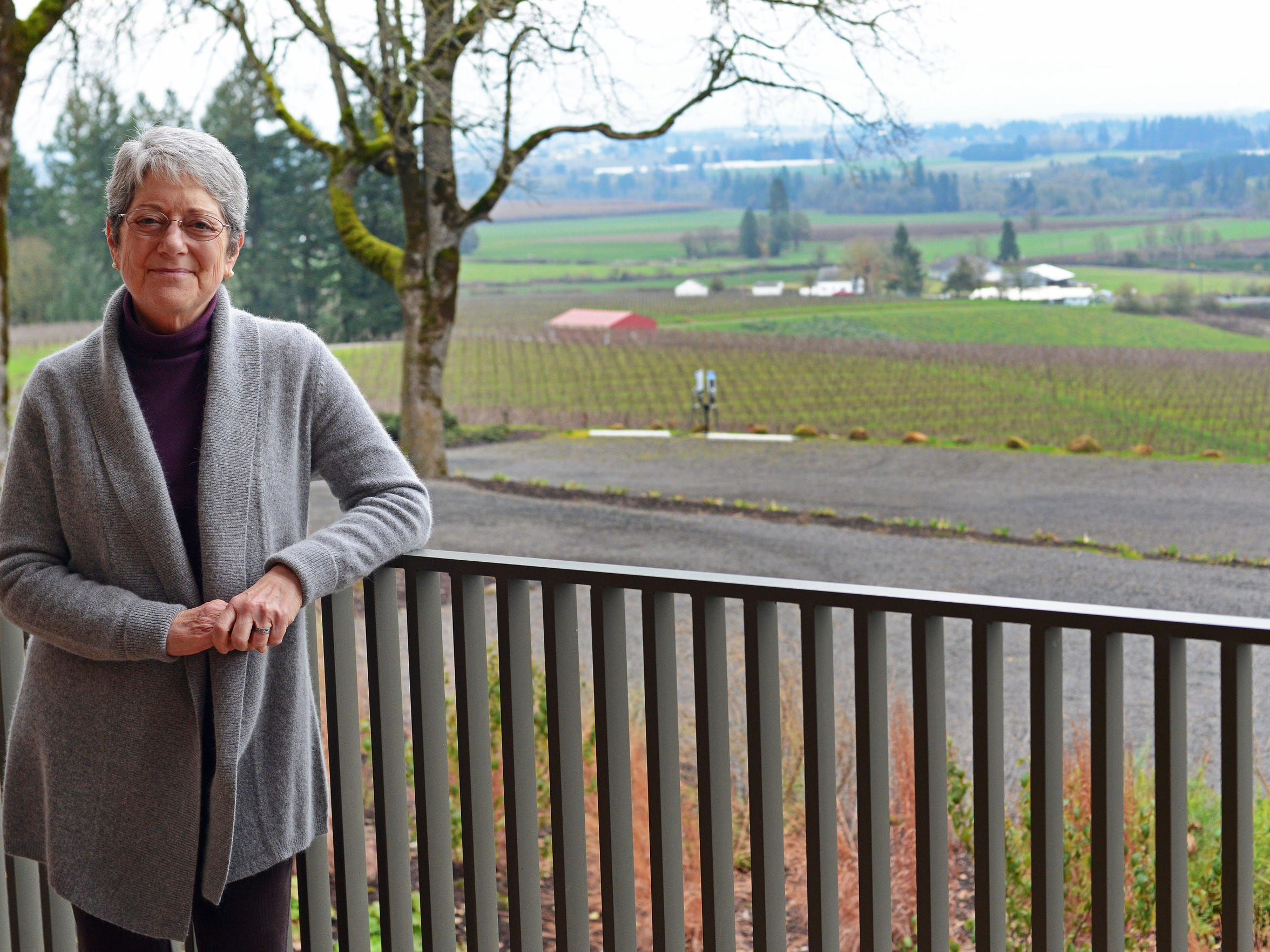 Susan Sokol Blosser, co-founder of Sokol Blosser Winery,