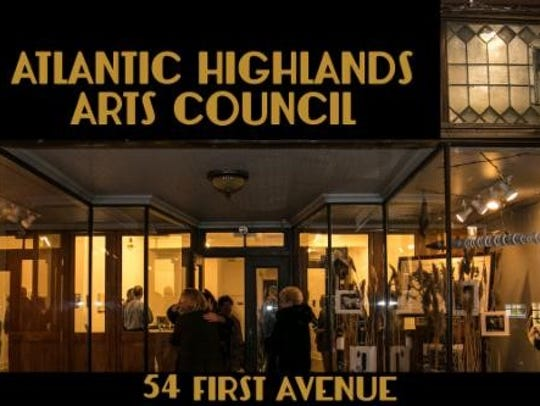 The Atlantic Highlands Arts Council gallery space.