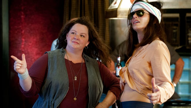 Melissa McCarthy and Sandra Bullock in 'The Heat.'