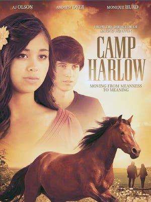 "AJ Olson Pelkey, who was born on Guam, starred in the Christian film ""Camp Harlow."""