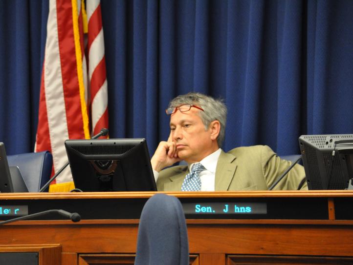 Sen. Eric LaFleur, D-Ville Platte and the chairman